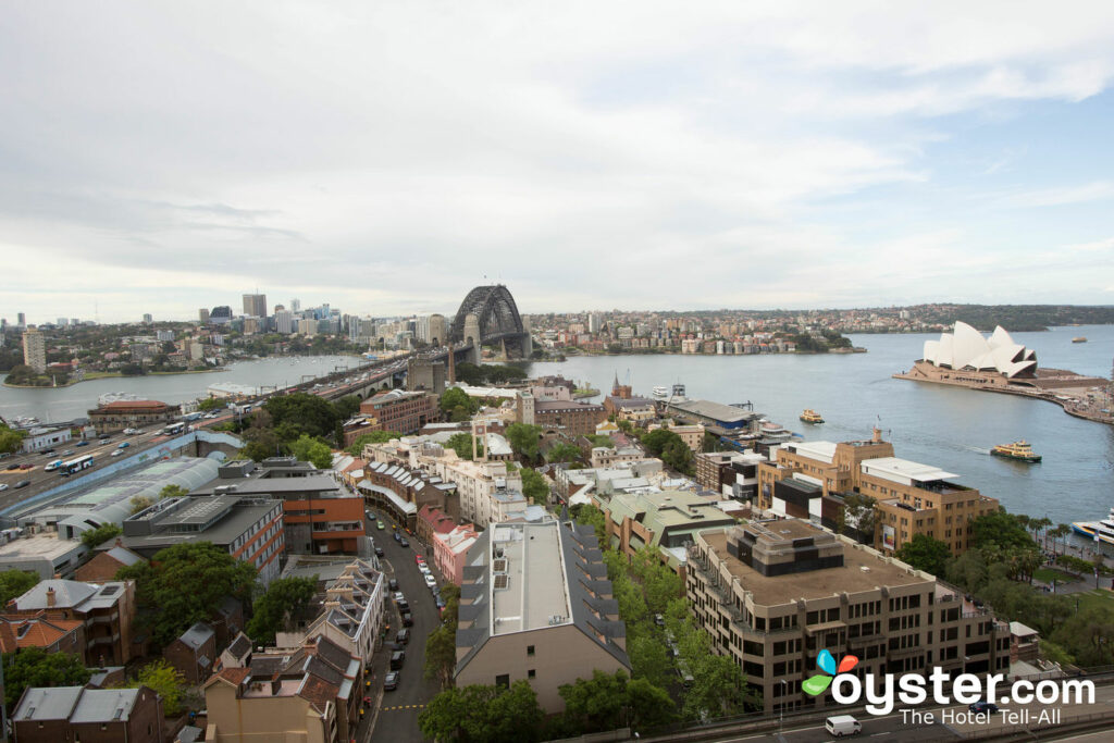 View from Room at the Quay West Suites Sydney