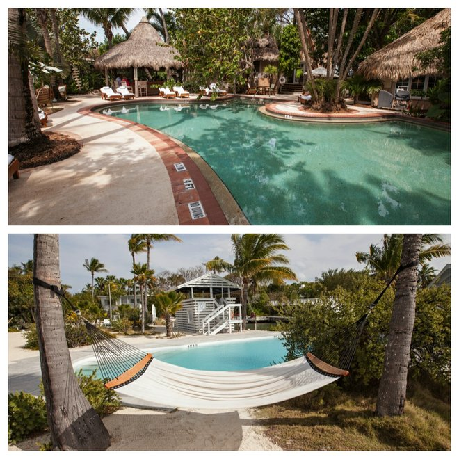 Top: Little Palm Island Resort & Spa; Bottom: Casa Morada
