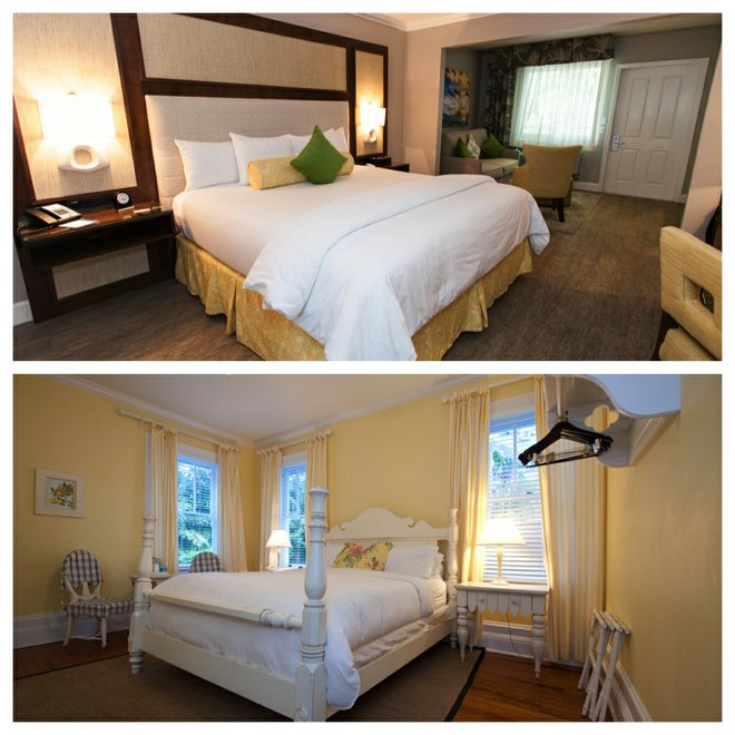Top: Almond Tree Inn; Bottom: The Weatherstation Inn