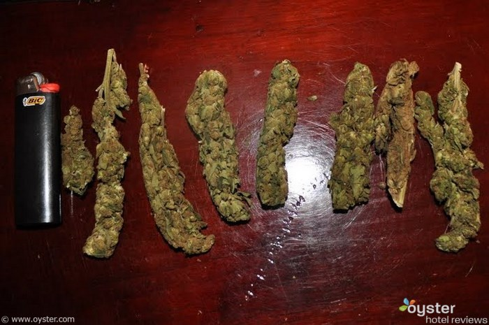 In Jamaica weed is measured in height, not weight.