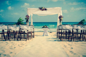 Photo: Wedding Altar on the Beach via Shutterstock