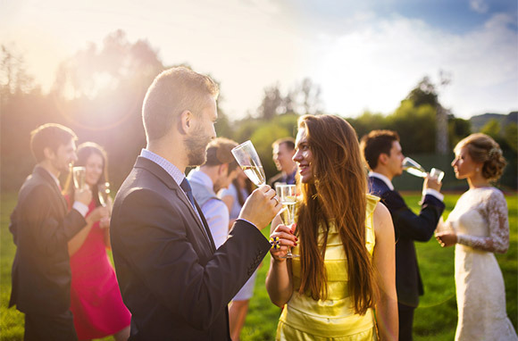 Photo: Wedding Guests via Shutterstock