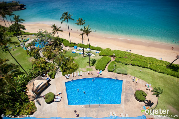 The Royal Lahaina Resort fronts a tranquil section of the famous, four-mile long Kaanapali Beach.