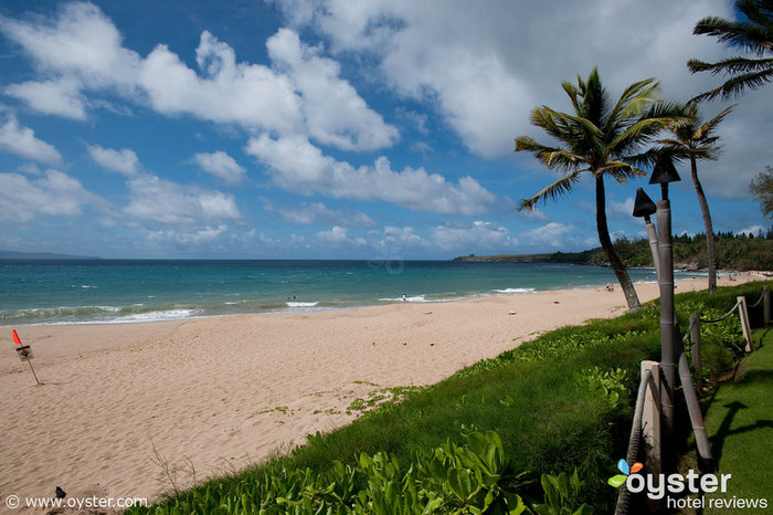 The Ritz-Carlton Kapalua provides direct access to the D.T. Fleming Beach Park -- a mile-long crescent of sandy beach.