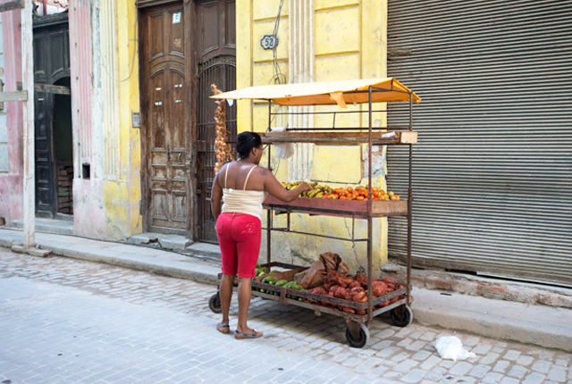 Old Havana is far from a tourist trap; it's filled with locals who live and work there.
