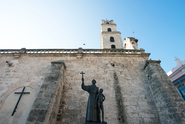 Basilica Menor de San Francisco de Asis in Old Havana