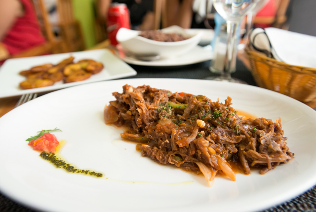 """Traditional """"ropa vieja,"""" a tasty beef dish"""