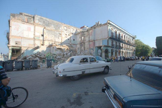 We saw plenty of piles of rubble around Old Havana.