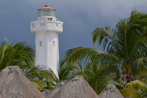 Isla Mujeres Lighthouse (Photo courtesy Jason Rosenberg)