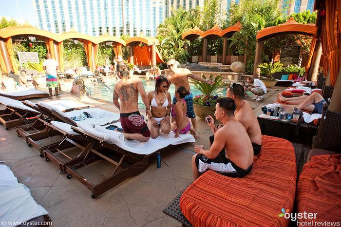 TAO Beach Club au Venetian Resort Hotel Casino