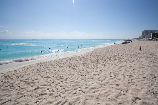 Beach at the Golden Parnassus Resort & Spa, Cancun/Oyster
