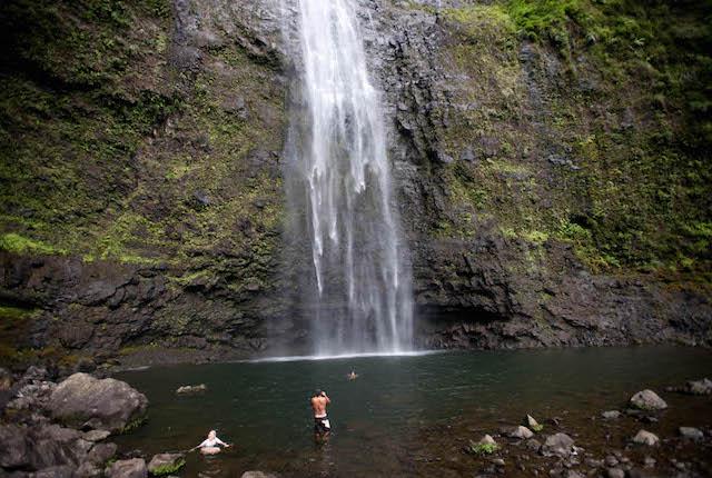 Hanakapiai Falls, Kauai, Hawaii / Oyster