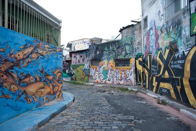 Grafitti in Vila Madalena, Sao Paulo/Oyster