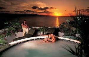 Photoshopped Jacuzzi image from the Breezes Montego Bay website