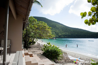 View from a Beachfront Room at Caneel Bay, A Rosewood Resort -- St. John
