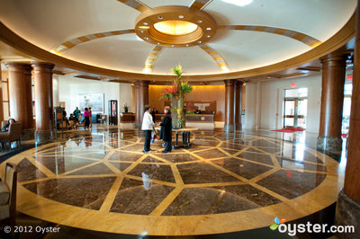 Lobby at the Mandarin Oriental Washington DC