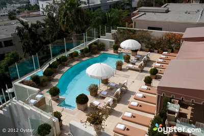The Pool at the Sunset Tower Hotel -- Los Angeles