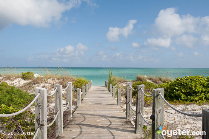 Pathway to the Beach at the Parrot Cay and COMO Shambhala Retreat -- Turks and Caicos