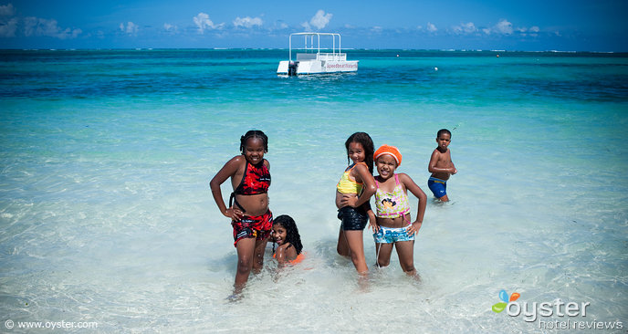 Kids near the beach at IFA Villas Bavaro, Punta Cana, DR