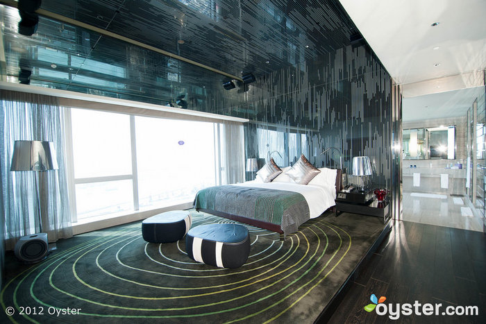 The Extreme WOW Suite reflects the high-design area of Kolwoon in Hong Kong.