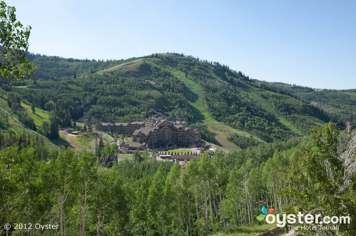 Built in picturesque Deer Valley, the hotel never lacks for stunning mountain views.