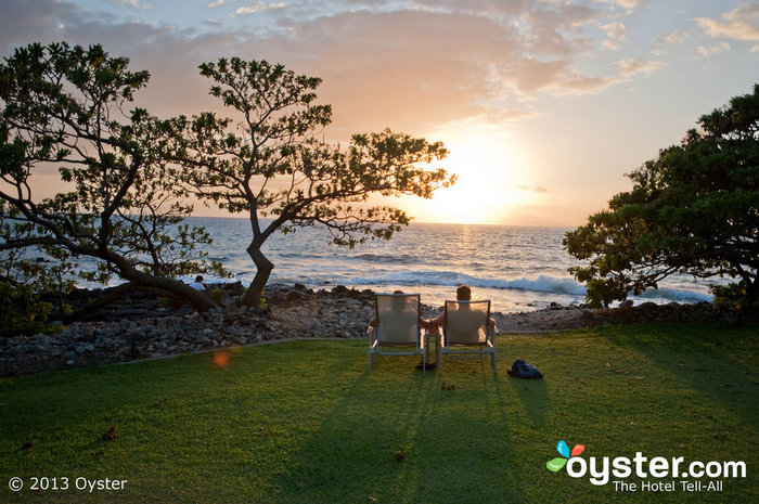 Set off into the sunset at the Marriott Wailea Resort in Maui.