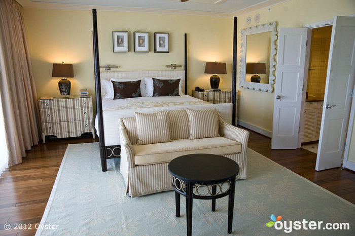 The Koko Head Suite at the Kahala Hotel and Resort is a popular choice for newlyweds, but there are many options to choose from. All suites come with free perks, such as a beach cabana reservation.