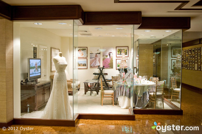 The shops at the Kahala Hotel and Resort come equipped with everything you might need on the big day.