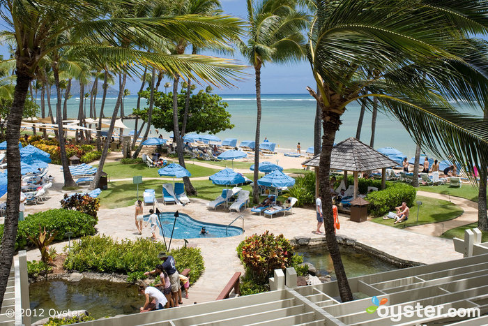 Grounds at the Kahala Hotel and Resort: With so much to do, your guests won't notice if you slip away for a moment or two.