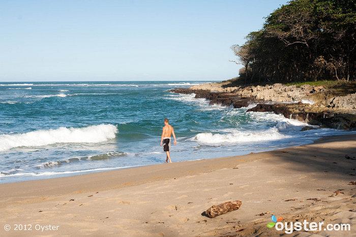 La plage privée de Natura Cabanas est l'endroit idéal pour prononcer vos vœux.