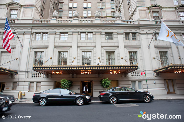 A grand entrance sets the stage for the lavish events to come.
