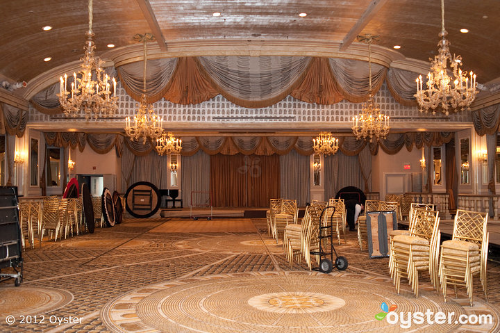 The bride and groommay have trouble selecting just one reception site, as all of them are gorgeously-appointed ballrooms.