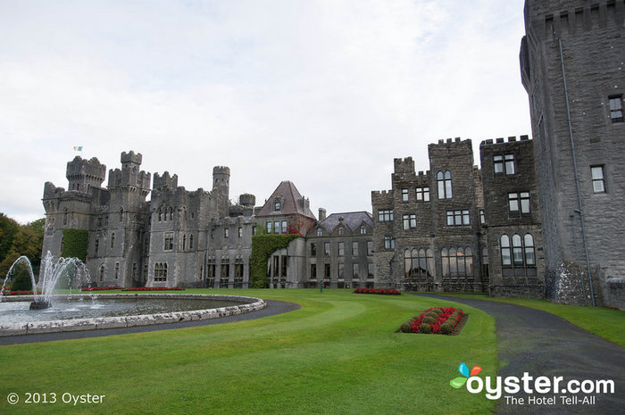 To wed like royalty, definitely consider Ireland's stunning Ashford Castle.