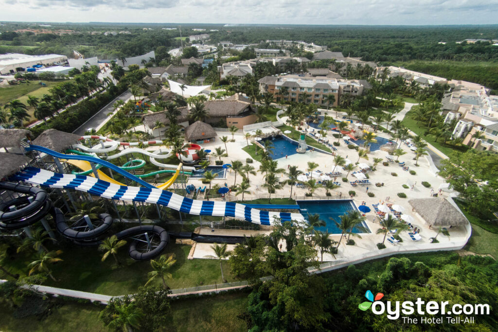 Aerial View of Memories Splash Punta Cana/Oyster