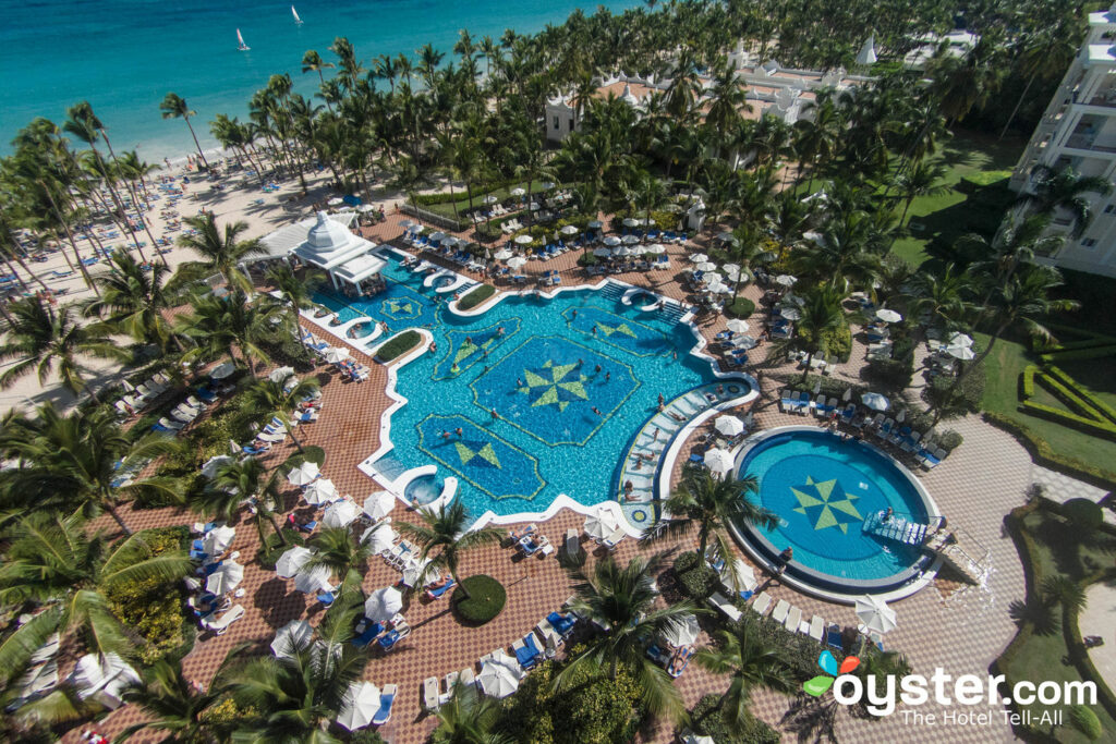 Aerial View of the Riu Palace Punta Cana