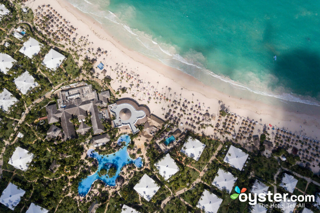 Aerial Photography of Paradisus Punta Cana Resort/Oyster