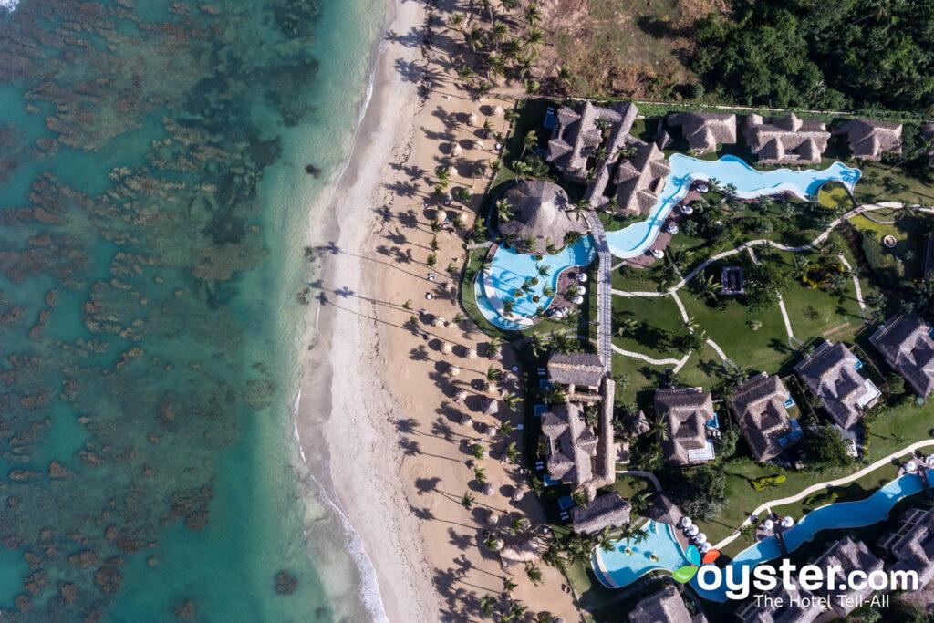 Luftbild von Zoetry Agua Punta Cana