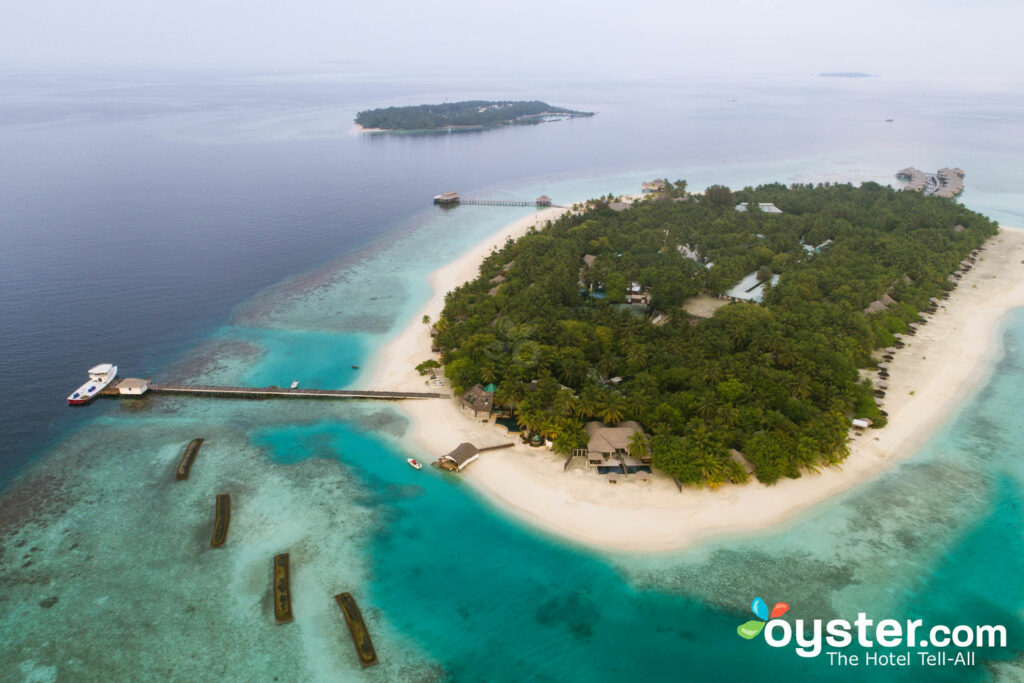 Aerial View of Kihaa Maldives/Oyster