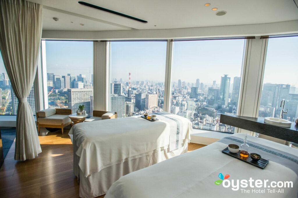 AO Spa à Andaz Tokyo Toranomon Hills / Oyster