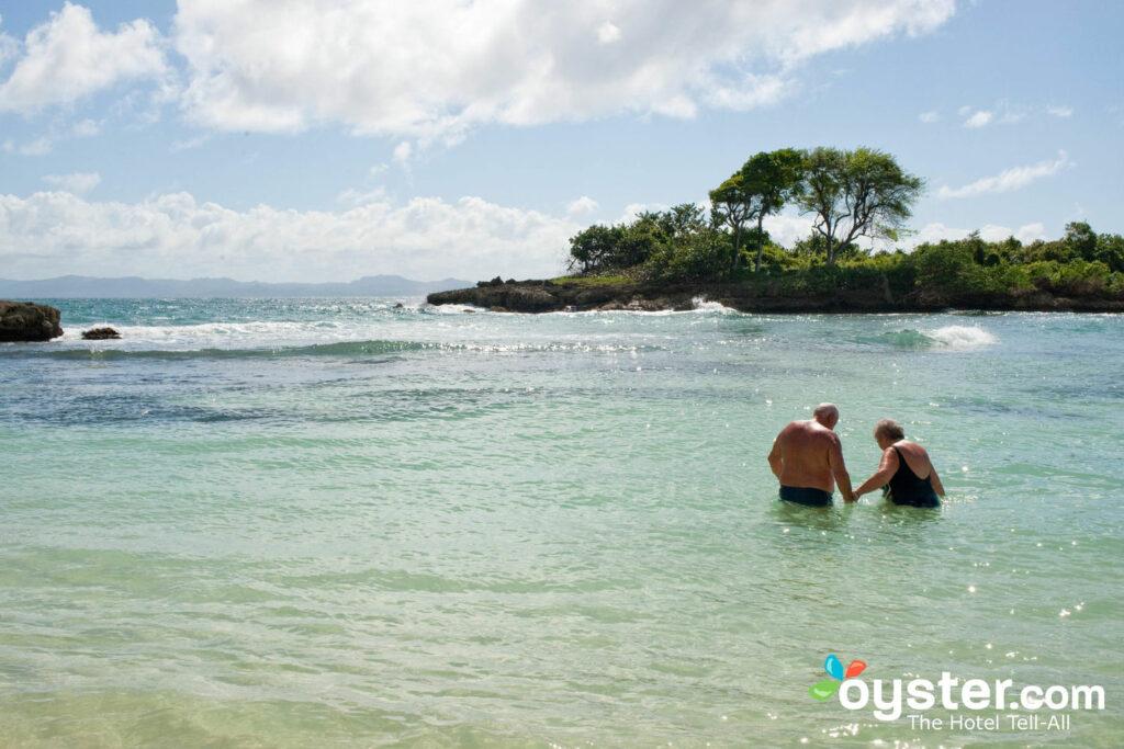 Strand von Bahia Principe Cayo Levantado, Samana / Oyster