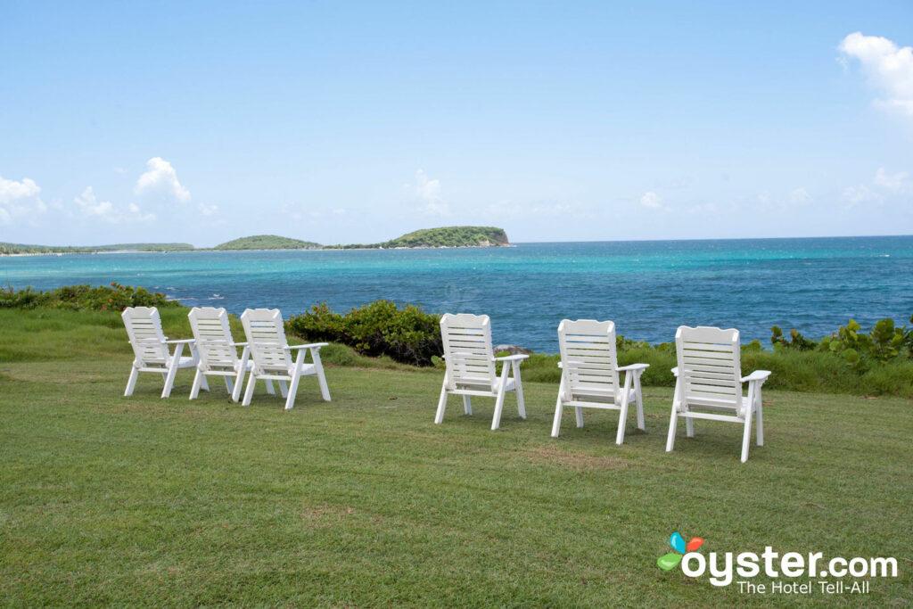 Gelände im Blue Horizon Boutique Resort in Vieques