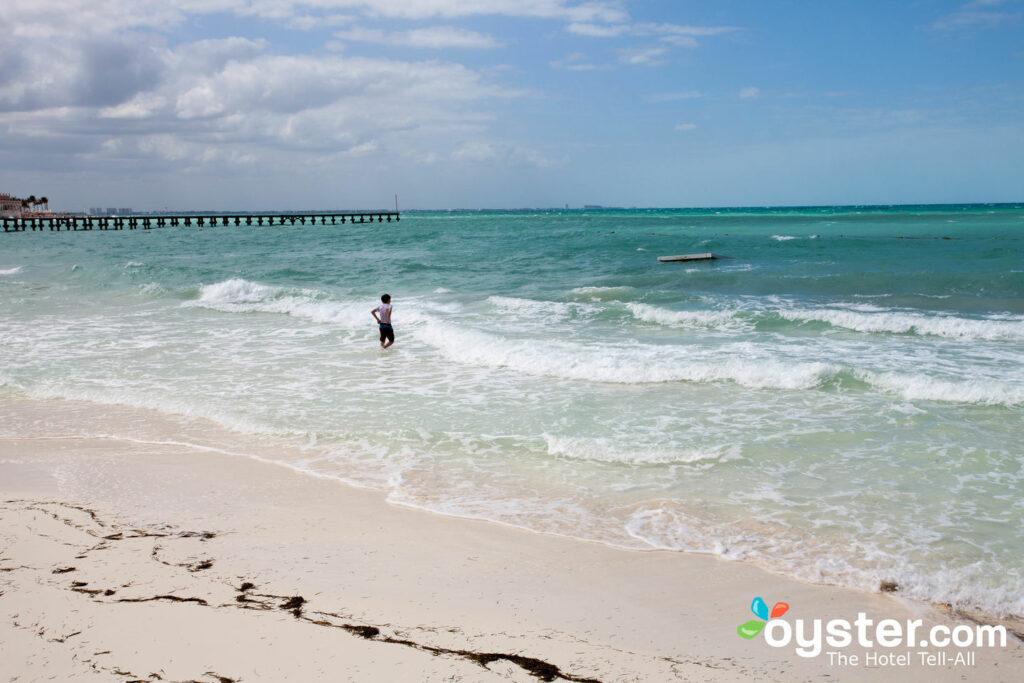 Der Strand an der großartigen Fiesta Americana Coral Beach Cancun
