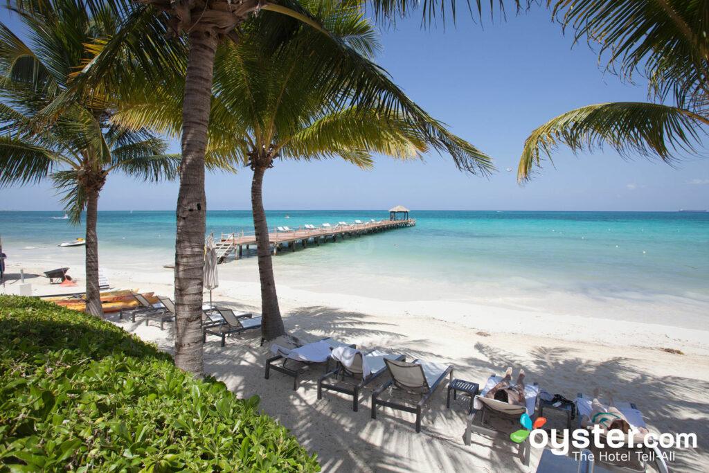 Beach at the Blue Diamond Luxury Boutique Hotel, Playa del Carmen