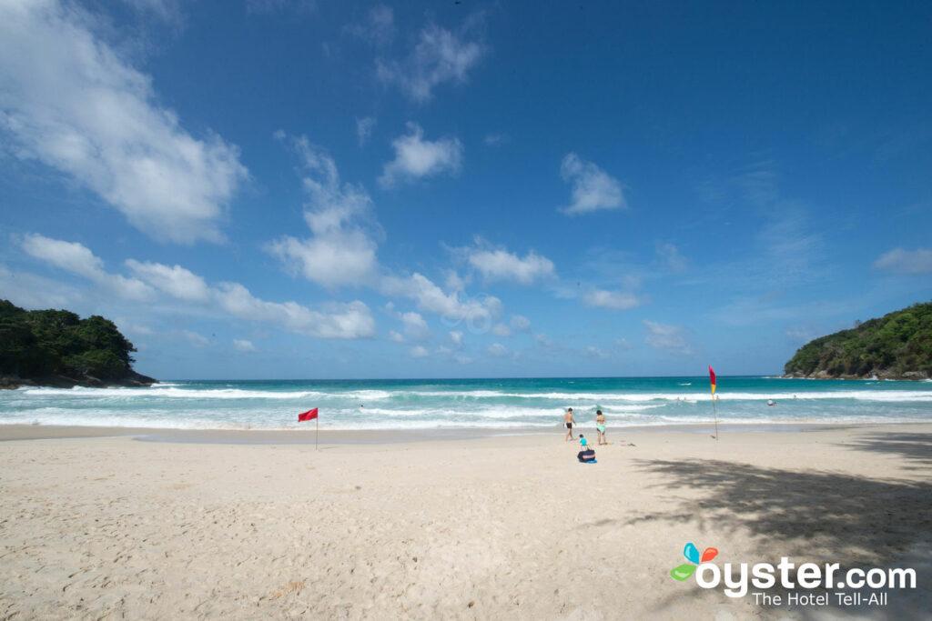 One of Phuket's stunning beaches at Le Meridien Phuket Beach Resort.