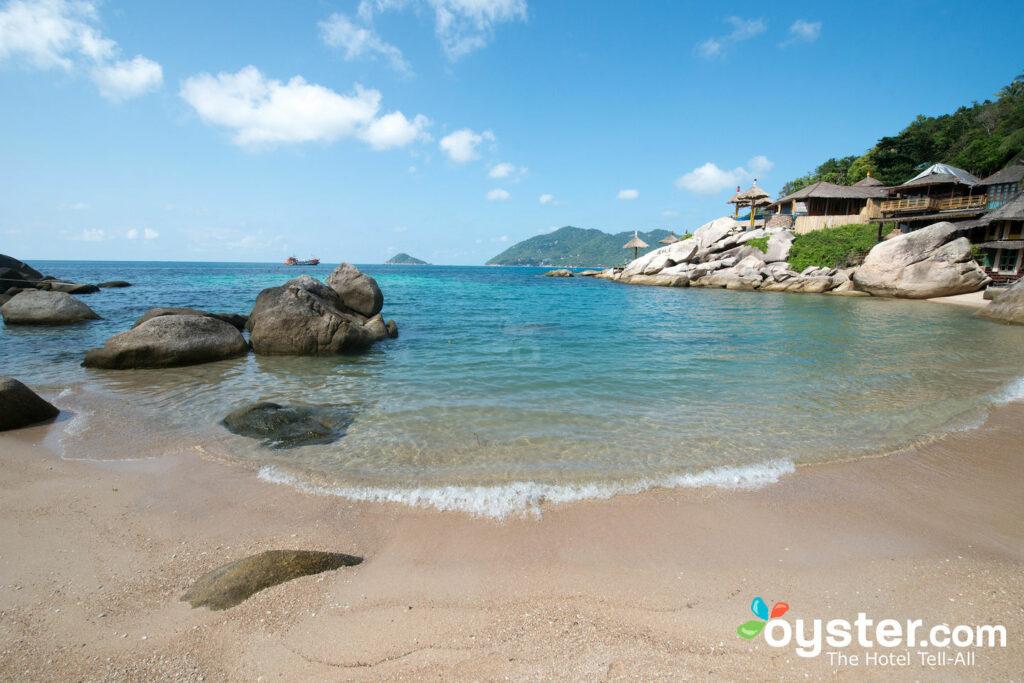 As lindas praias de Koh Tao.