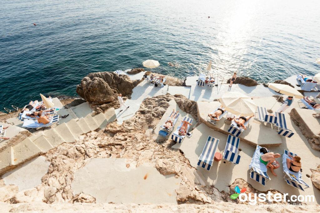 Praia em Villa Dubrovnik / Oyster