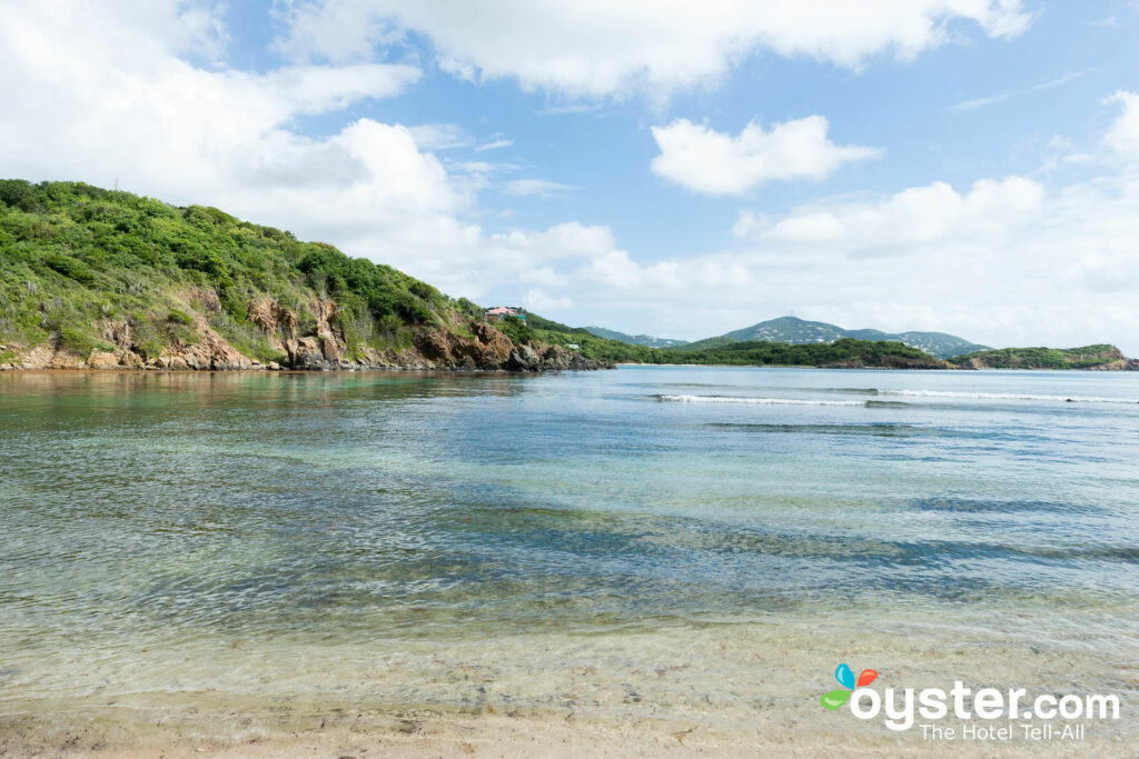 Strand am Virgin Islands Campground