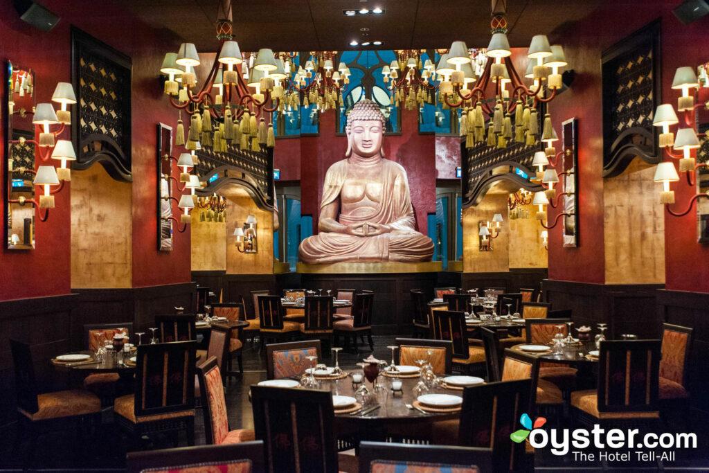 Buddha-Bar Restaurant at the Buddha-Bar Hotel Budapest Klotild Palace