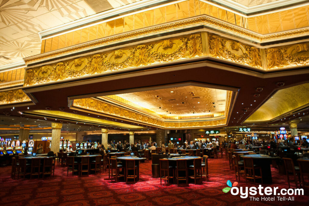 The casino at the MGM Grand