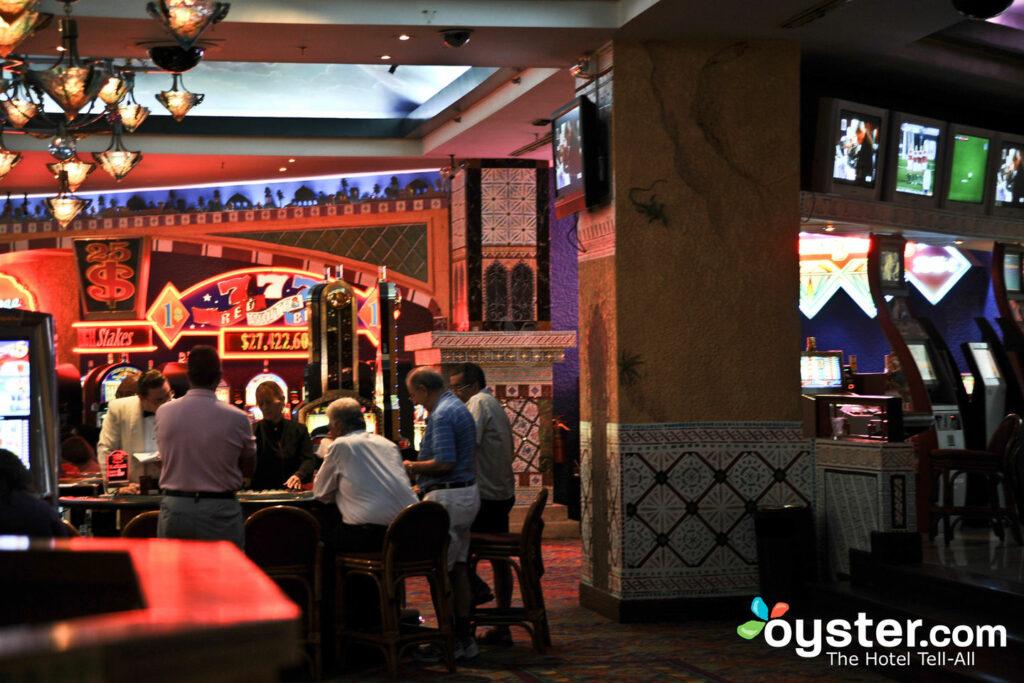 Cassino no Hotel Riu Palace Antillas, Aruba / Ostra